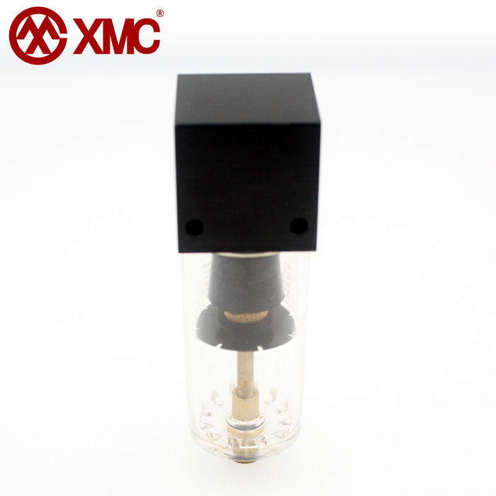 1/4 light in structure compressed air particulate filter for mini pneumatic devices