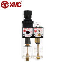 XFRUL4_Air Double-Link Unit (2 Combination Unit, FR+L)_X Series Air Source Treatment Units_XMC (HUAYI) Pneumatic