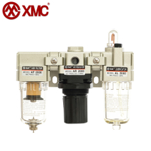 AC2000-01/02_Air Triple-Link Unit (3 Combination Unit, F+R+L)_A Series Air Source Treatment Units_XMC (HUAYI) Pneumatic
